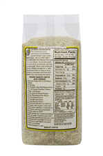 Barley grits/meal - back