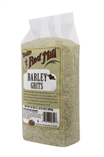 Barley grits/meal - side