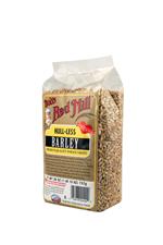 Barley hull-less whole - side