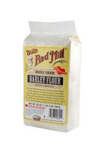 Barley flour - side