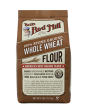 Whole wheat flour - 5 lbs - front