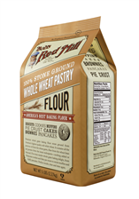 Whole wheat pastry flour - 5 lbs - side