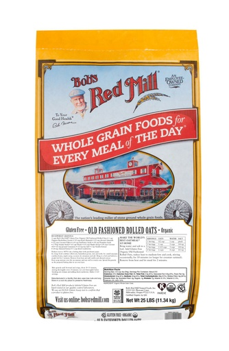 GF OG Old Fashioned Rolled Oats - 25 lbs