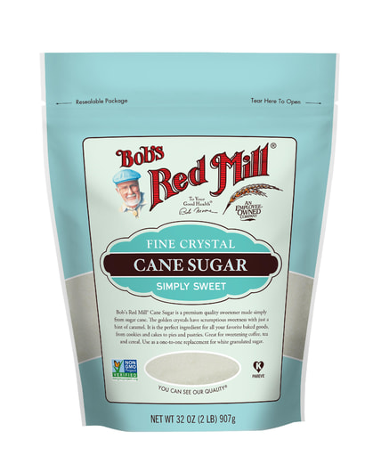 Cane Sugar- front