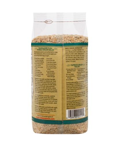 Whole grain medley - back