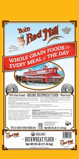 Og buckwheat flour - 25 lbs