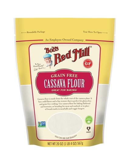 Cassava Flour 20oz- front