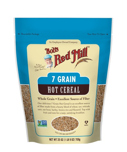 7 Grain Hot Cereal- front
