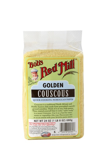 Couscous golden - front