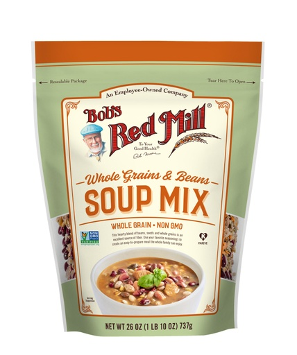 Whole Grains Bean Soup Mix - front