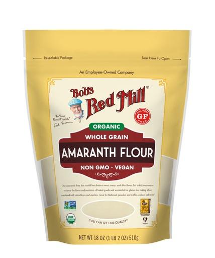 Amaranth Flour Organic- front