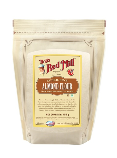 Almond flour - 453g - IN - front