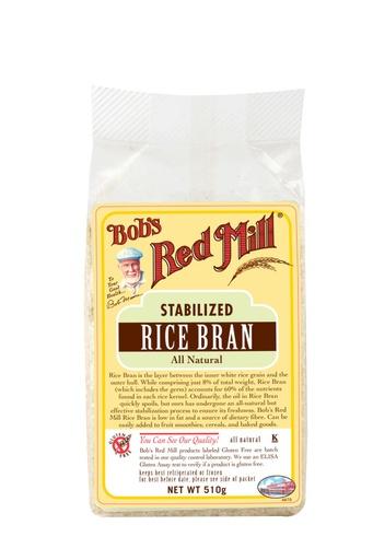 Rice bran - australia - front
