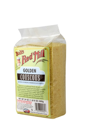 Couscous golden - side