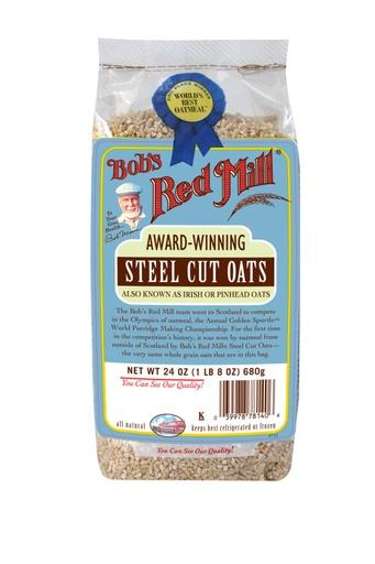 Steel cut oats - hong kong - front