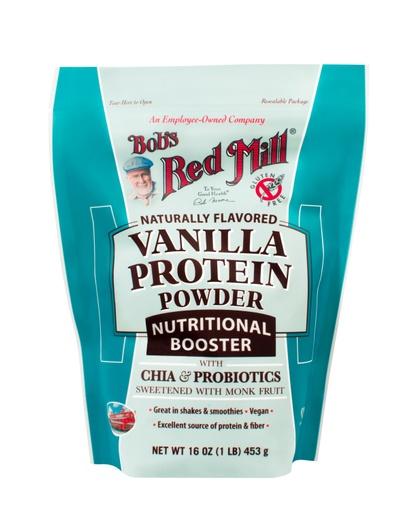 Vanilla Protein Powder -front