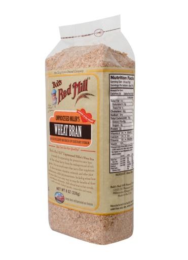 Wheat bran - side