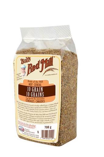 10 grain cereal - canadian - 708g -side