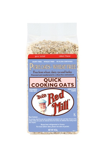 Wf quick cooking oats - australia - front