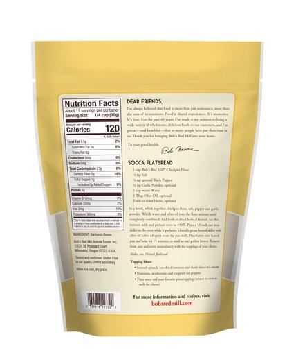 Chickpea Flour- back