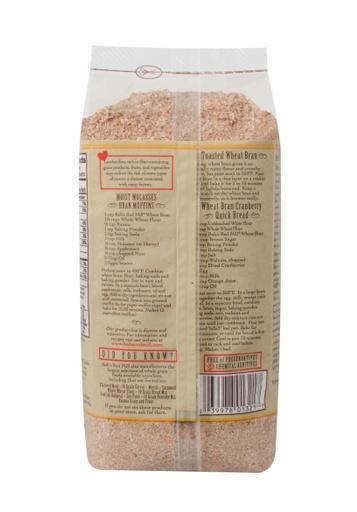 Wheat bran - back