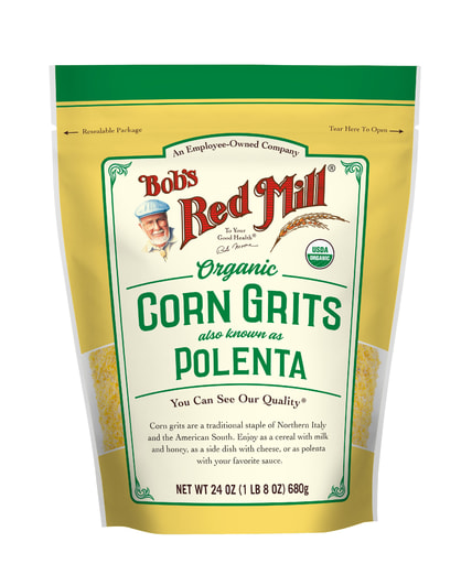 Corn Grits/Polenta Organic- front