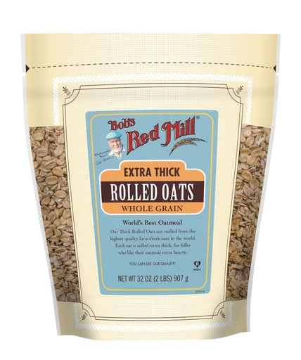 Extra thick rolled oats - hong kong - front