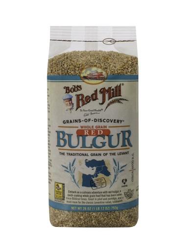 Bulgur red wheat- front