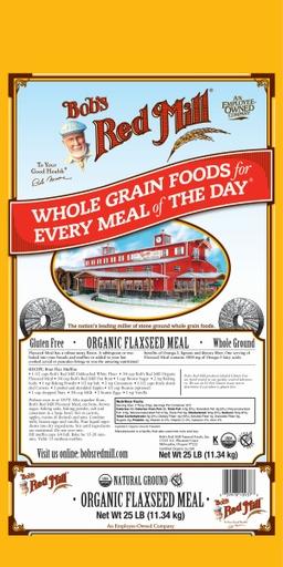 Og flaxseed meal - 25 lbs