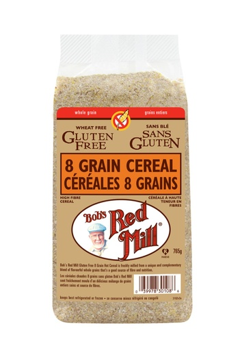 8 grain cereal - canadian - 765g - side