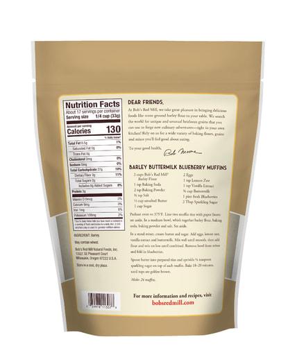 Barley Flour- back