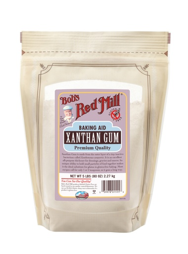 Xanthan gum - front - SUP 5 lbs