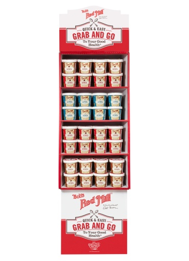 Oatmeal Cups Multi-flavor Shipper