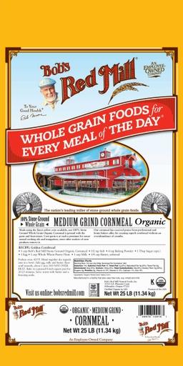 Og cornmeal medium grind - 25 lbs