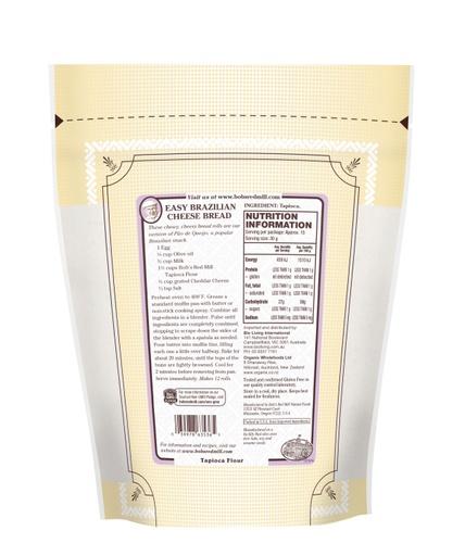 Tapioca Flour - SUP - 454g - AU - back