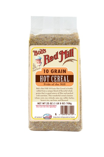 10 grain hot cereal - hong kong - front