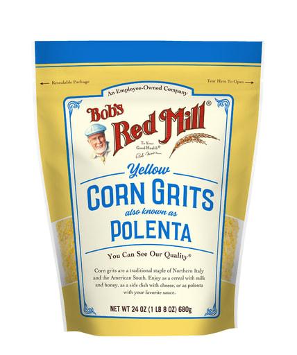 Corn Grits/Polenta- front