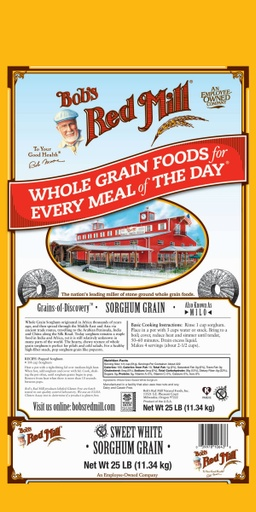 Sorghum Grain - 25 lbs