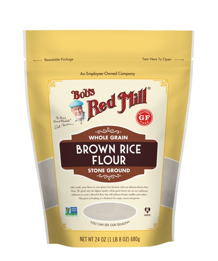 Brown Rice Flour- front