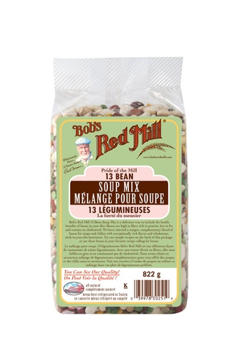 13 bean soup mix - canadian - 822g - front