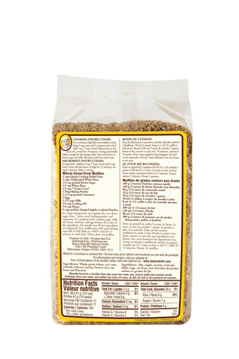 7 grain cereal - canadian - 708g - back