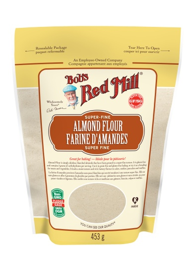 Almond flour - SUP - 453g - front - canadian