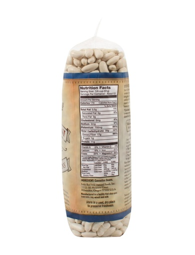 Beans Cannellini - 24 oz - Right Side