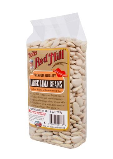Beans large lima - side