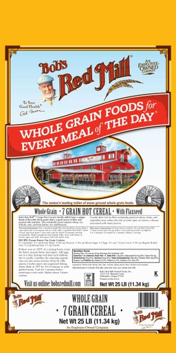 7 grain cereal - 25 lbs
