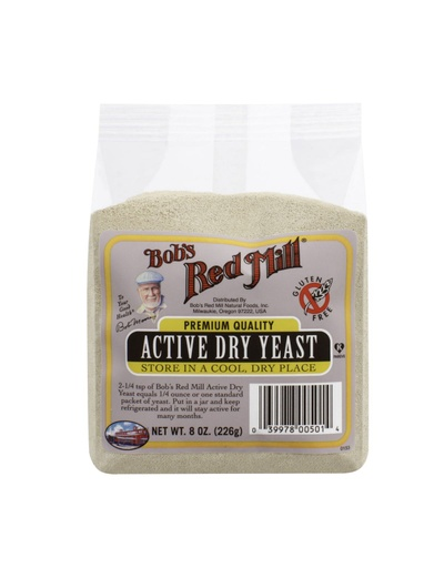Yeast active dry - front