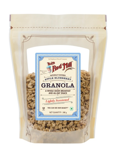 Apple Blueberry Granola - India - front