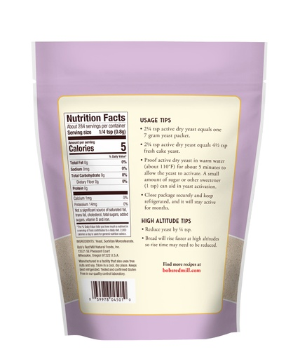 Yeast Active Dry- back