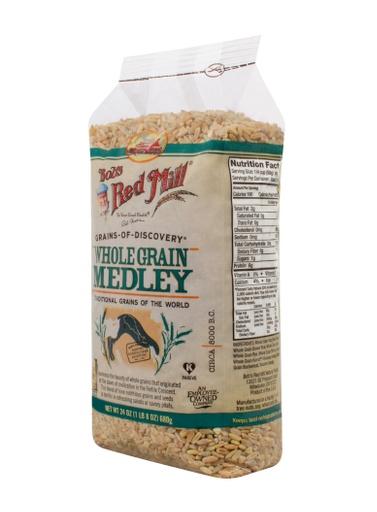 Whole grain medley - side