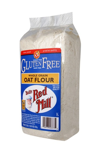 Gf Oat flour whole grain - side